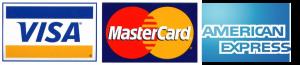 Visa, MasterCard, AMEX